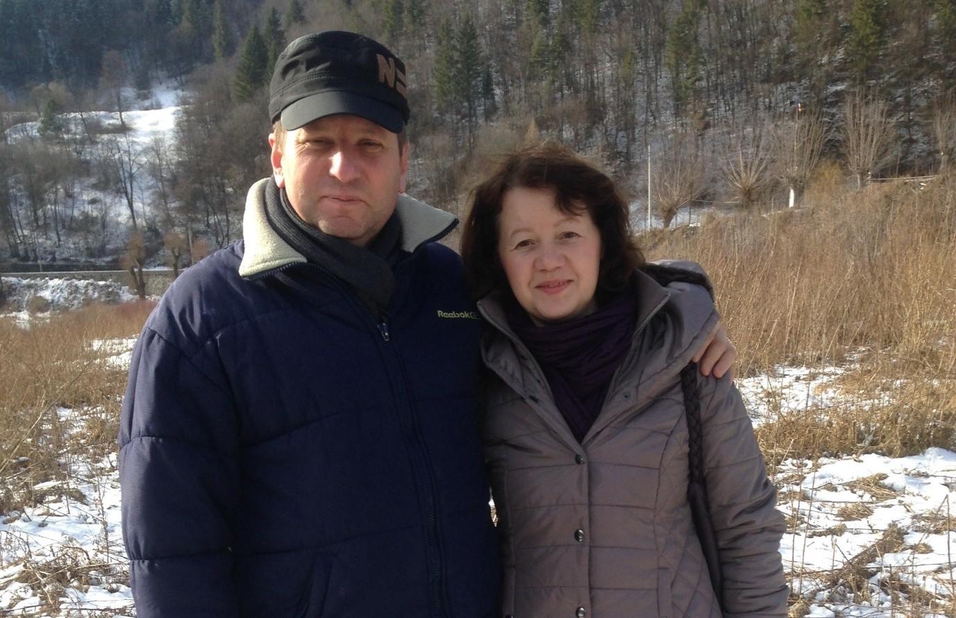 Beni and Ioana Handaric
